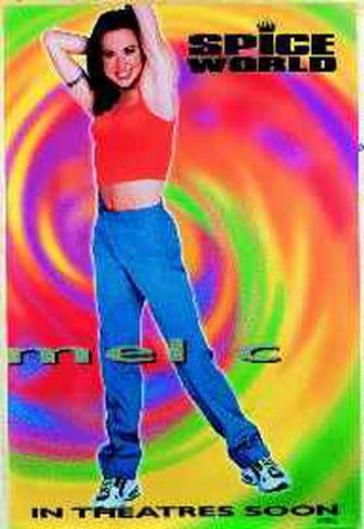 Spice World Original Poster