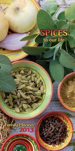 Spices to our Life - 2013 Planner & Organizer Calendars