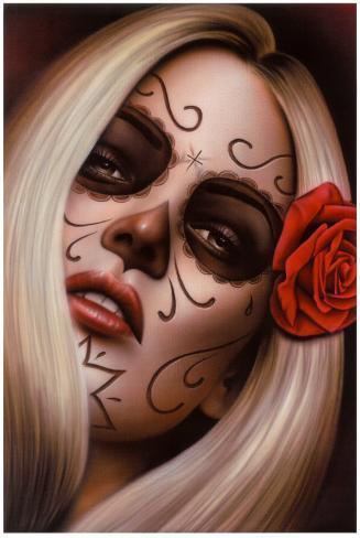 Spider's La Muerta Art Print