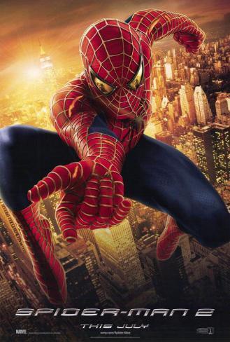 Spider-Man 2 (Spiderman 2) Póster