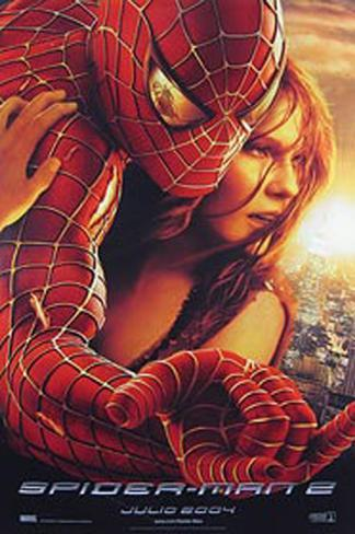 Spider-Man 2 Double-sided poster