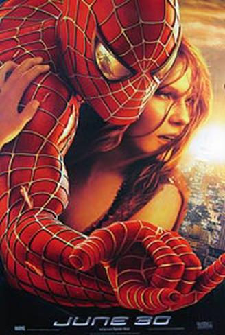 Spider-Man 2 Original Poster