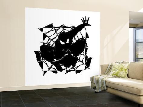 Spider-Man: Black Spider-Man Wall Mural – Large