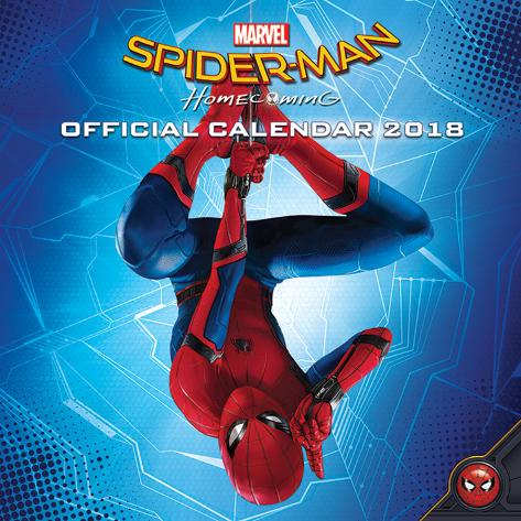 Spider-Man: Homecoming - 2018 Calendar Calendari