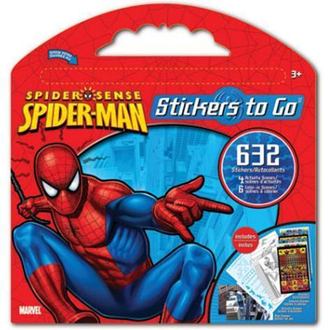 Spider-Man Stickers Set 3 Stickers