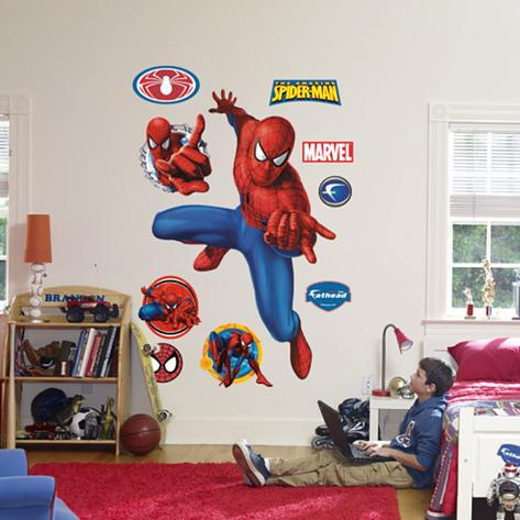 Spider-Man: Webslinger Wall Decal