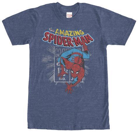 Spiderman- Distressed Stamp T-Shirt