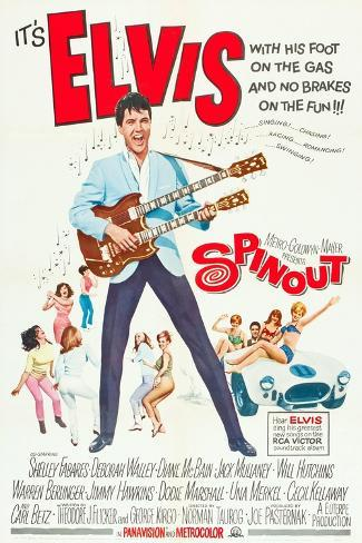 SPINOUT, Elvis Presley, 1966 Art Print
