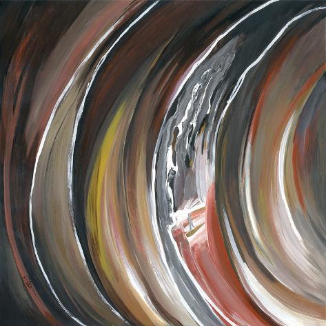 Spiral of Belief I Art Print