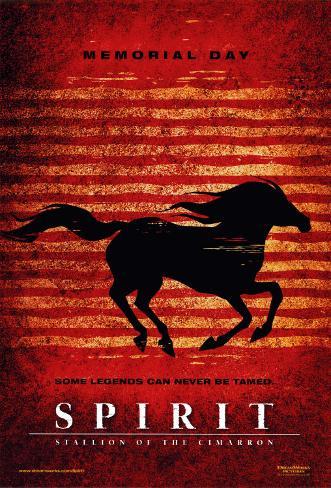 Spirit- Stallion of the Cimarron Double-sided poster