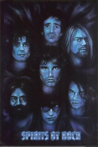Spirits of Rock Poster