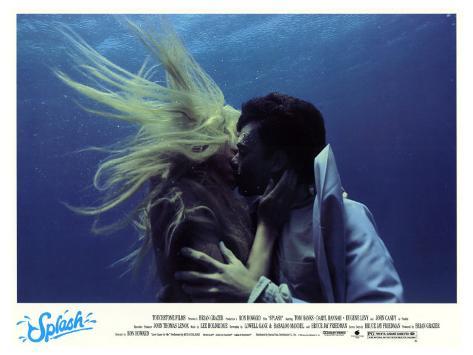 Splash, 1984 Stretched Canvas Print