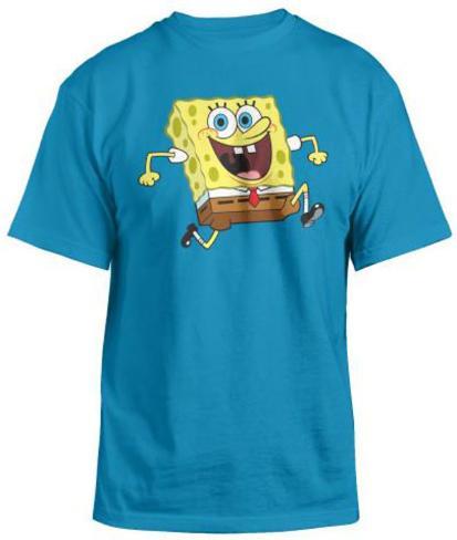 Sponge Bob- Reversable T-Shirt