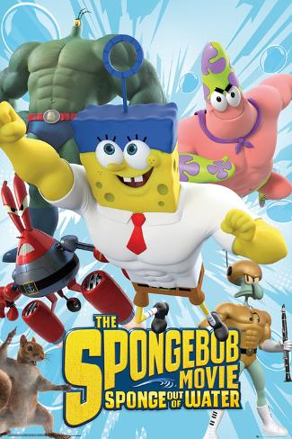 Spongebob Movie - Characters Poster