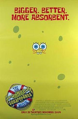 Spongebob Squarepants Movie Original Poster