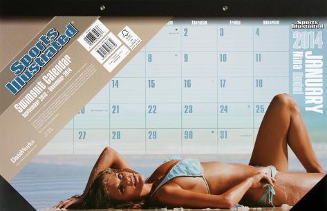 Sports Illustrated Swimsuit - 2014 Desk Pad Calendar Calendars