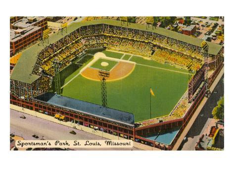Sportsman's Park, St. Louis, Missouri Art Print