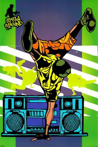 Sprayground - B-Boy Poster