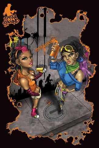 Sprayground - Graf Girls Poster