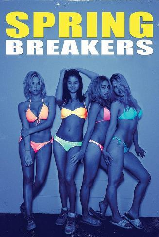 Spring Breakers Movie Poster Pôster