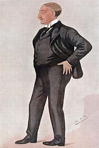 Cecil Rhodes, British-Born South African, Financier, Statesman and Empire Builder, 1891 Giclee Print