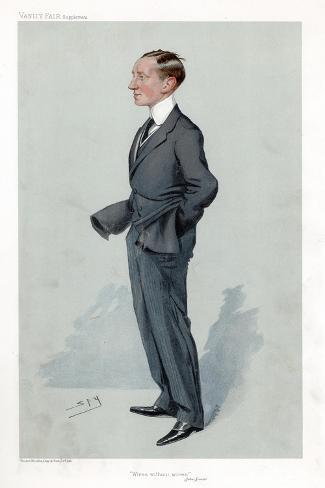 Guglielmo Marconi, Italian Physicist and Inventor and Pioneer of Wireless Telegraphy Giclee Print