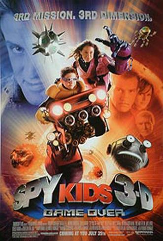 Spy Kids 3D Original Poster
