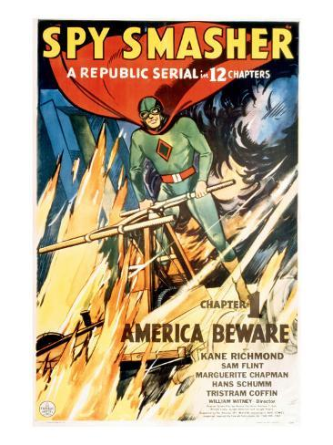 Spy Smasher, Kane Richmond in 'Chapter 1: America Beware', 1942 Photo