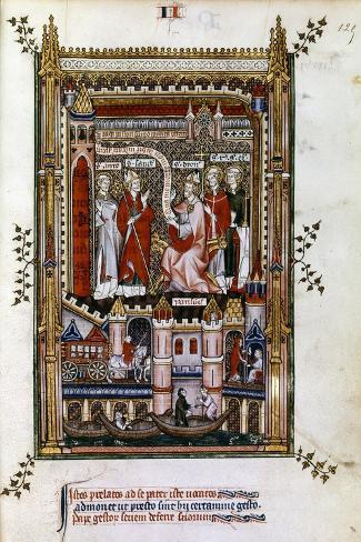 St Denis, 1317 Giclee Print