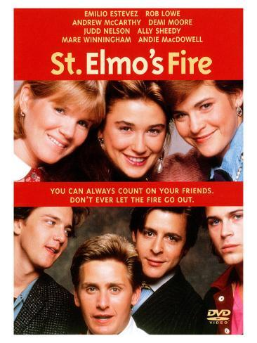 St. Elmo's Fire, 1985 Stretched Canvas Print