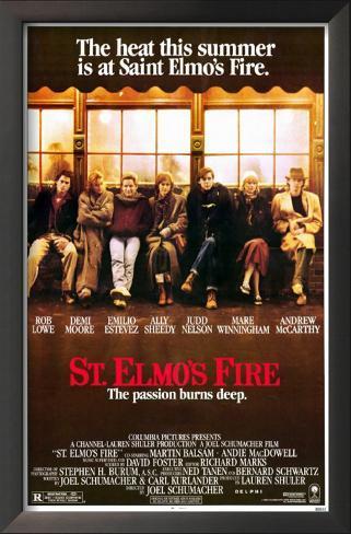 St. Elmo's Fire Framed Art Print
