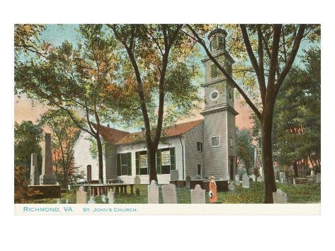 St. John's Church, Richmond, Virginia Art Print
