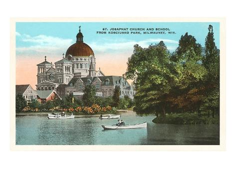 St. Josaphat Church, Milwaukee, Wisconsin Art Print
