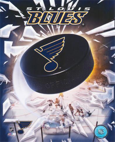 St.Louis Blues 2005 - Logo / Puck Photo