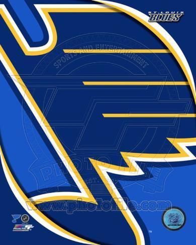 St. Louis Blues 2011 Team Logo Photo