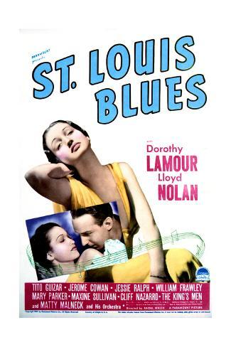 St. Louis Blues - Movie Poster Reproduction Stampa artistica