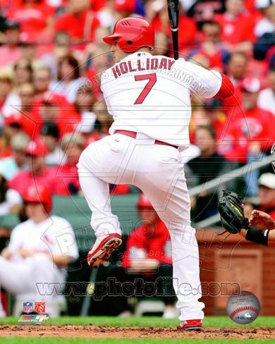St Louis Cardinals - Matt Holliday Photo Photo