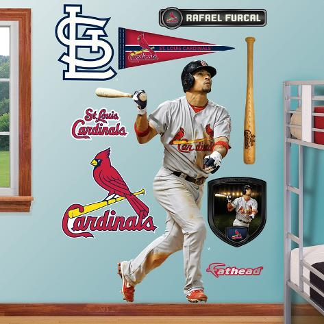 St. Louis Cardinals Rafael Furcal Wall Decal Sticker Wall Decal