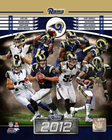 St. Louis Rams 2012 Team Composite Photo