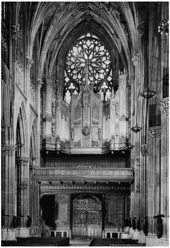 St Patrick's Cathedral New York 1946 Archival Photo Poster Poster