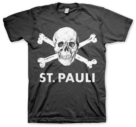 st pauli fc st pauli skull t shirts at. Black Bedroom Furniture Sets. Home Design Ideas
