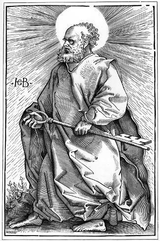 St Peter, 1519 Lámina giclée