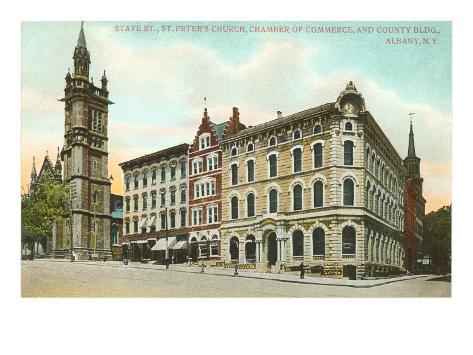 St. Peter's Church, Albany, New York Art Print