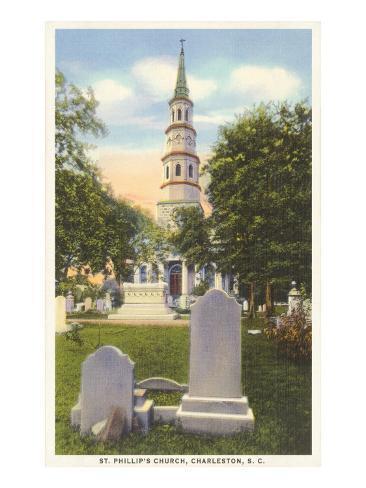 St. Philip's Church, Charleston, South Carolina Art Print