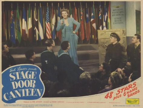 Stage Door Canteen, 1943 Konstprint