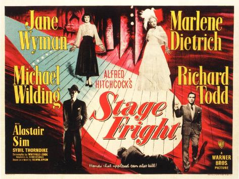 Stage Fright, 1950 Premium Giclee Print