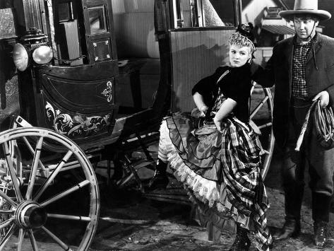 Stagecoach, Claire Trevor, Andy Devine, 1939 Photo