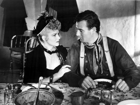 Stagecoach, Claire Trevor, John Wayne, 1939 Foto