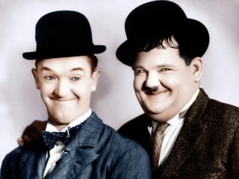 Stan Laurel, Oliver Hardy, ca. 1930s Photo - at AllPosters.com.au