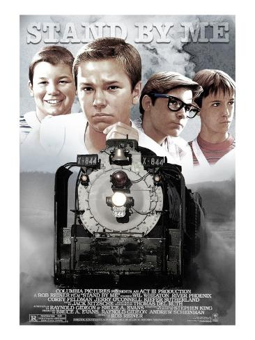 Stand By Me, 1986 Stretched Canvas Print